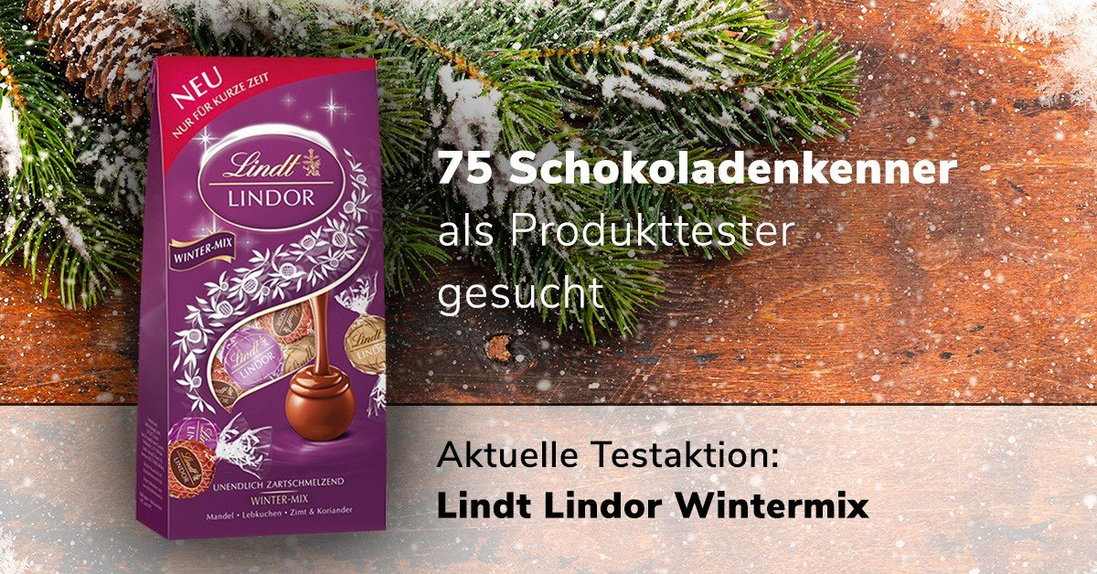 🍬 Lindt Lindor Wintermix