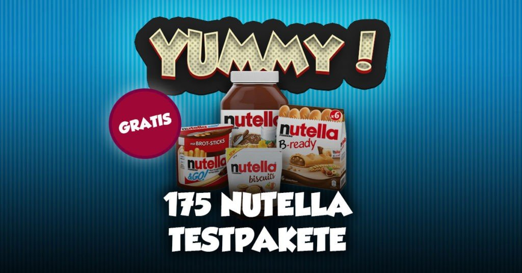 Testaktion-Nutella